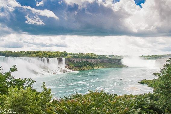 Cataratas del Niagara. Canada. Destinos soñados