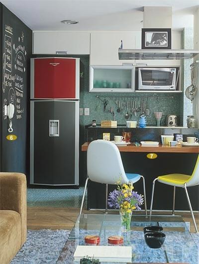 parede lousa cozinha