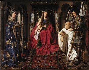 La Virgen con el canónigo George Van Der Paele - Jan van Eyck
