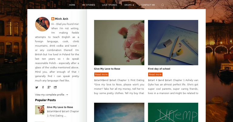 free blogger templates for writers - pinotes responsive blogger template for writers