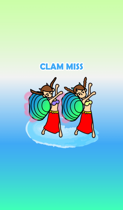 clam miss happy together