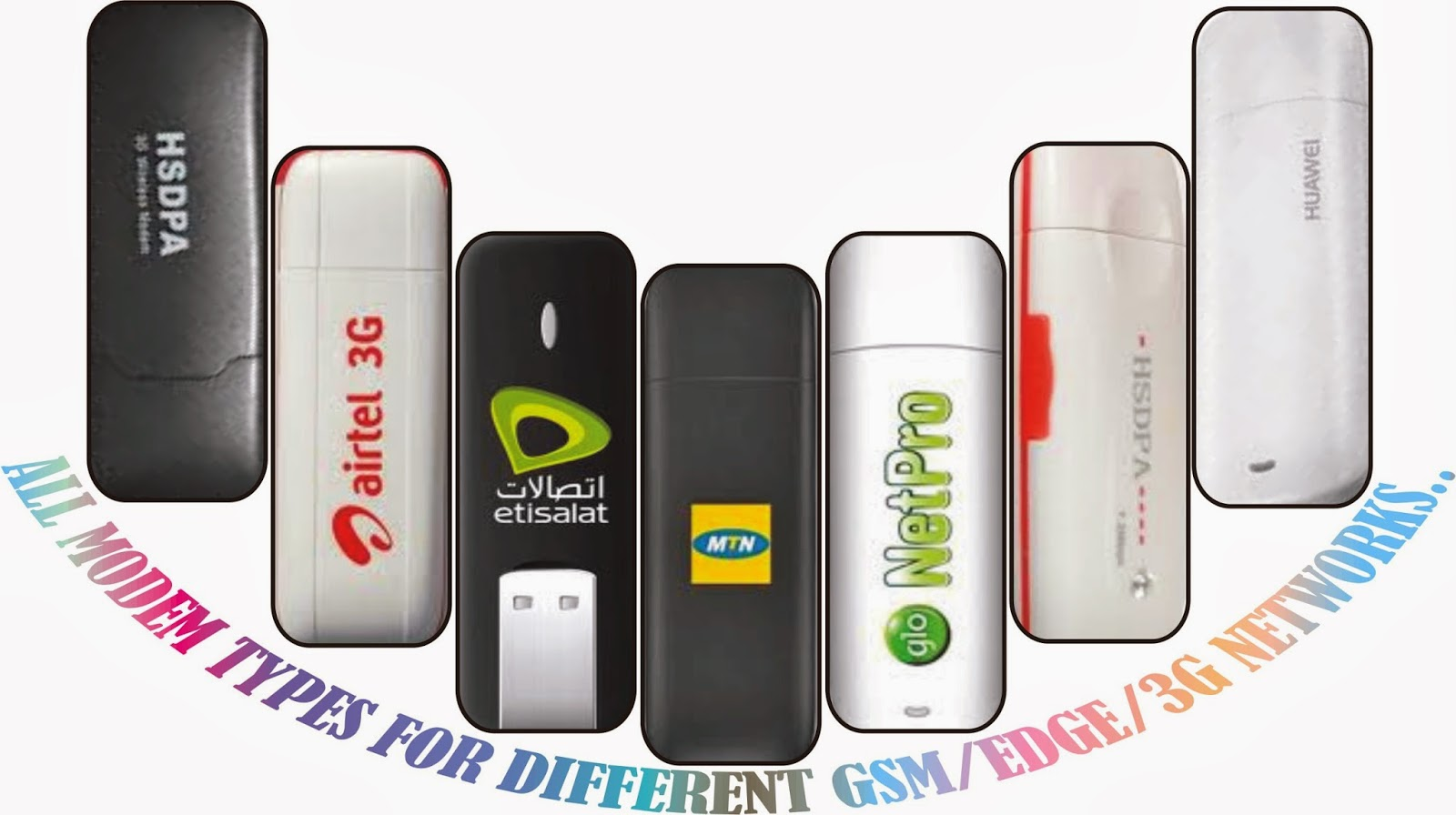 How To Configure Your Airtel, MTN, Etisalat, & Glo Modem, Manually