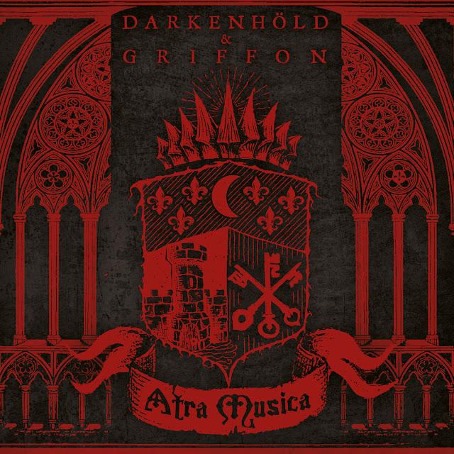 griffon darkenhold split 2019 atra musica medieval black metal