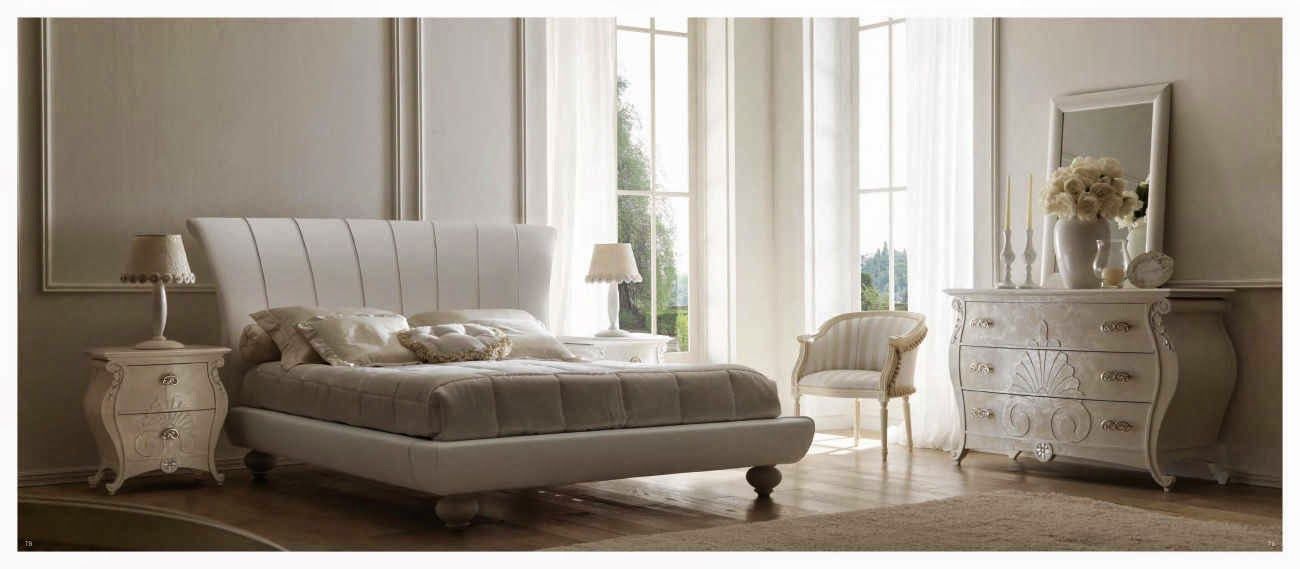 Design interior mobila dormitor de lux Italia - Design Interior | Amenajari interioare - Bucuresti | Mobila Italia - mobilier lux italia pat Airone