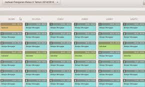 Download Alokasi Waktu Tema dan Jadwal Pelajaran Tematik Kelas 1 dan 4 SD/MI  Kurikulum 2013