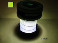 1. Stufe: OUTAD 2-in-1 Outdoor Wireless Bluetooth Lautsprecher & LED Lampe mit eingebautem Mikrofon, einstellbarem Licht und Broadcom 3.0