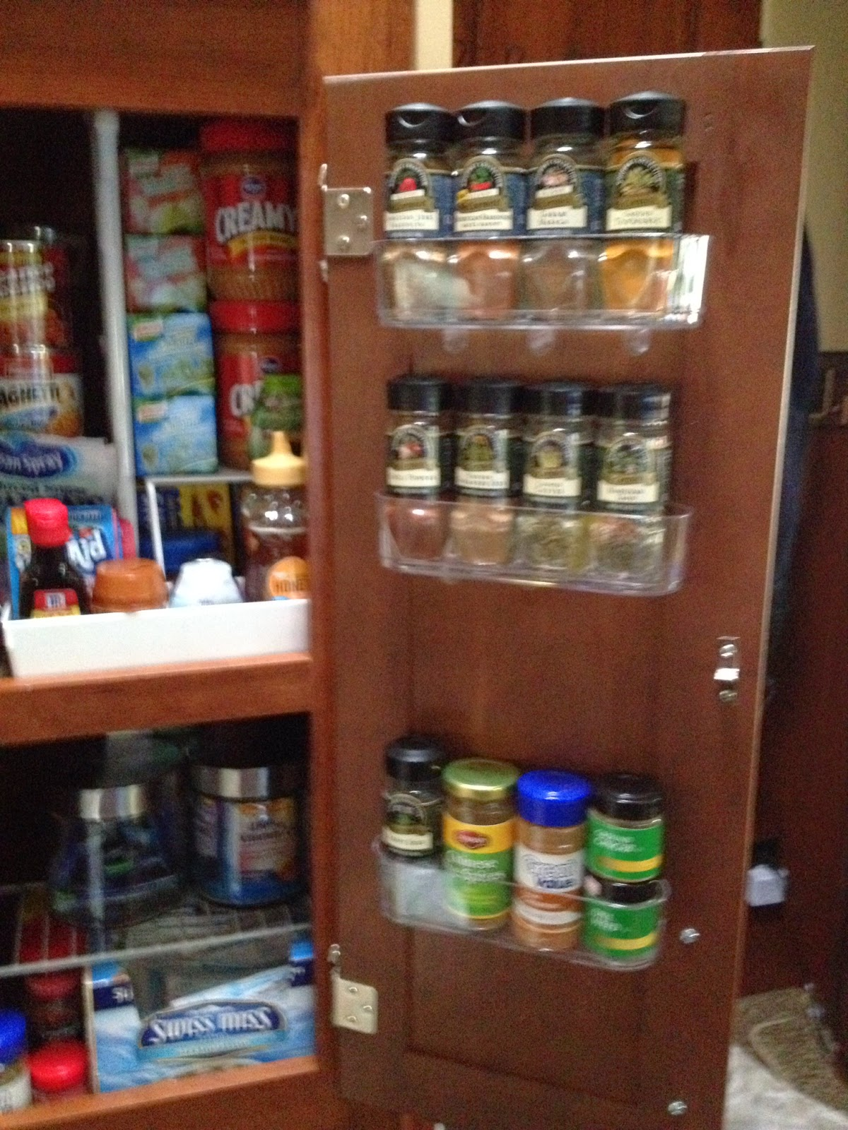 Click here to shop for mountable spice racks
