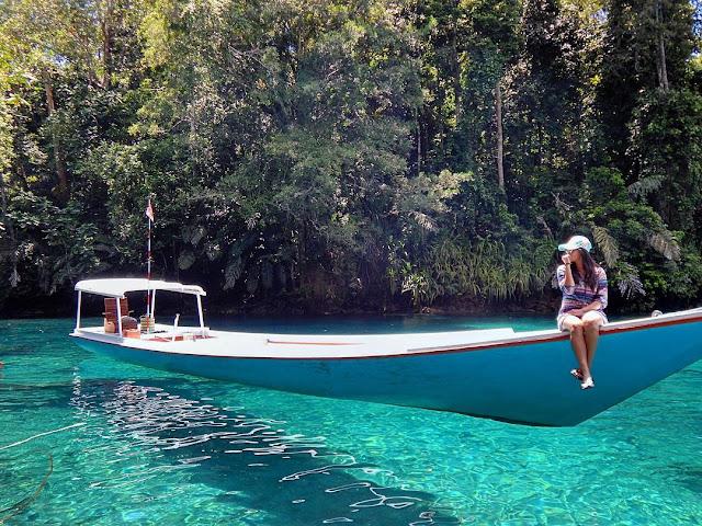 Danau labuan cermin, Kalimantan Timur