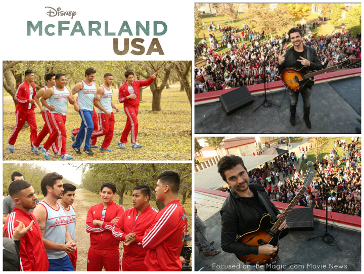 ORIGINAL NEW SONG BY LATIN ROCK SUPERSTAR JUANES Music Video Shot on Location in McFarland, California, Draws Huge Crowd Juanes Thrills Fans at McFarland's Holiday Parade