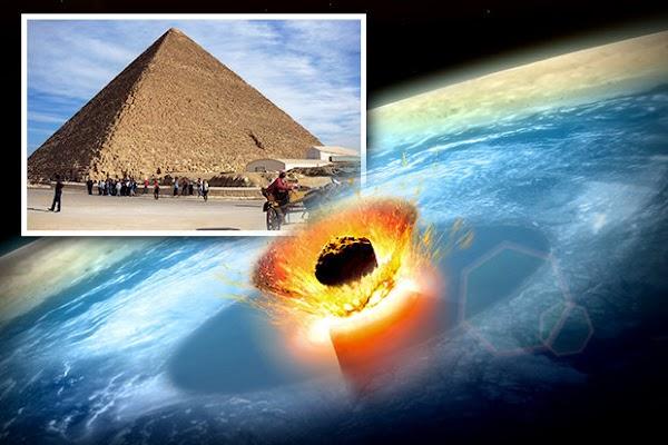 ULTIMA HORA: científicos descubren nuevo asteroide , que se dirige a la tierra y es mas grande que las piramides de Egipto.