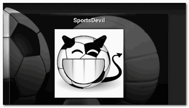 Repository SportsDevil For IPTV XBMC | KODI