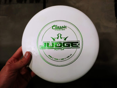 Dynamic Discs Judge Frisbee Golf Putter