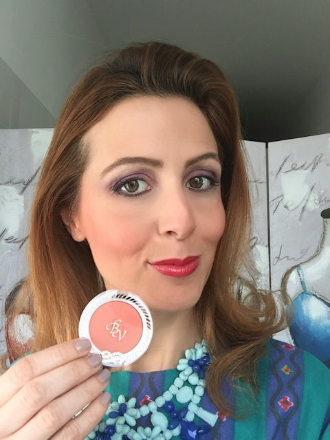 Collezione makeup Riviera  Mediterranea di Bottega Verde: fard pesca su Fashion and Cookies beauty blog, beauty blogger