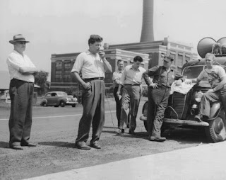 Local 618 President Roy Christoph, United Electrical Workers, Addressing a Mass Demonstration in Erie (July 29, 1949)