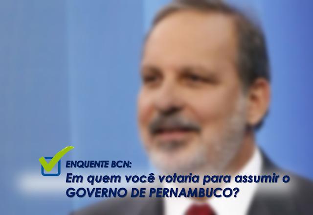 ENQUETE: Armando Monteiro lidera intenções de voto na enquete realizado pelo Blog Coisa Nossa.