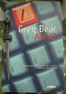 Portada del libro Alt 47, de Greg Bear