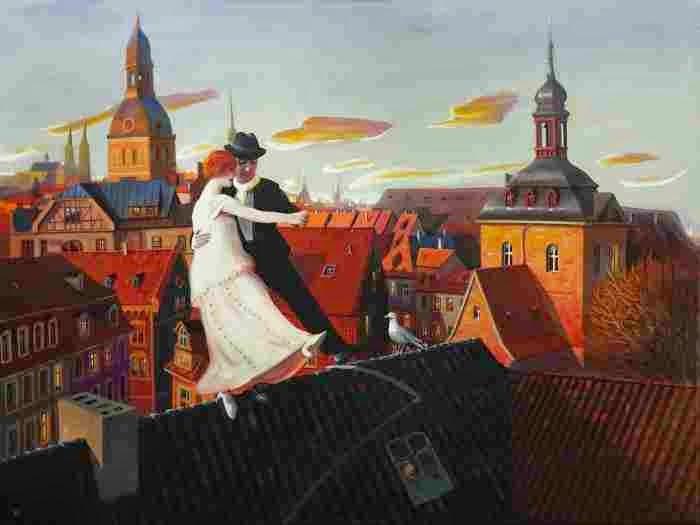 Шведский художник. Rolf Jansson