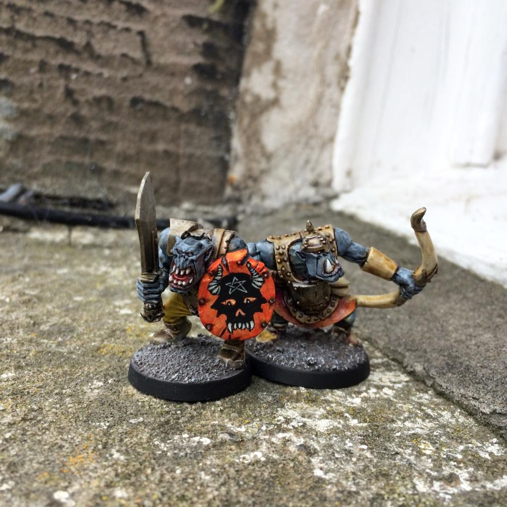 Hobgoblinry: More experiments in speed painting: GW and Ral