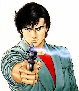 City Hunter de Tsukasa Hôjô-city hunter-nicky larson-tsukasa hojo-shueisha-tokuma shoten-panini-j'ai lu-weekly shonen jump-seinen-manga-serie-36-tomes-1986-1996-angel heart-bdocube-bedeocube