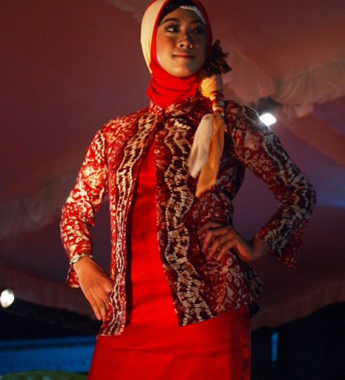 model baju sasirangan banjar