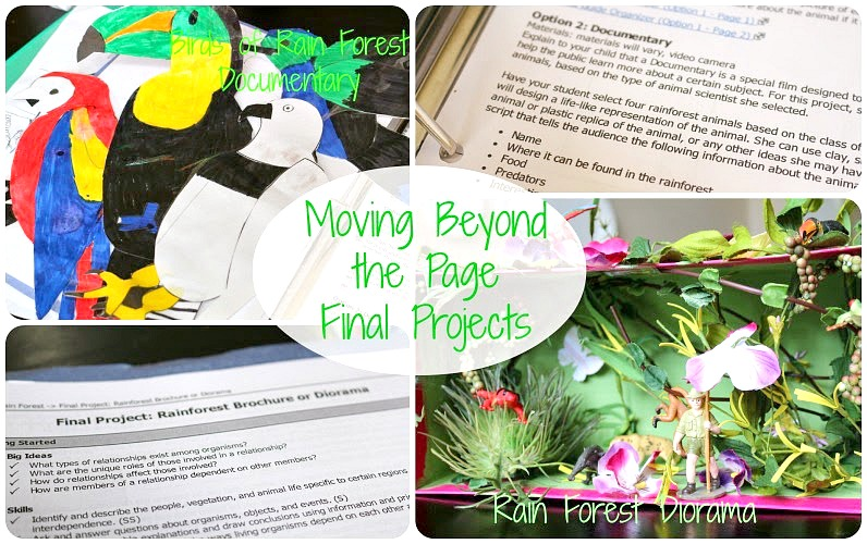 Moving Beyond the Page Final Projects from School Time Snippets