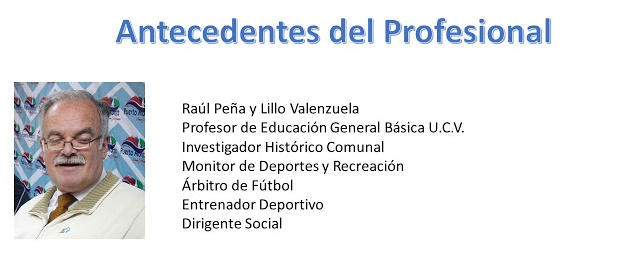 Currículum Profesional