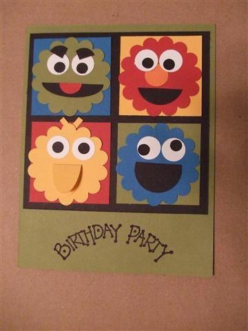 Stellas Sesame Street Birthday Party Design Improvised