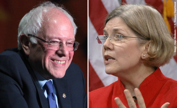 Clinton thinks Elizabeth Warren can replace Bernie Sanders