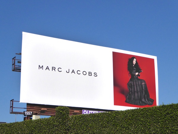 Cher Marc Jacobs FW15 billboard