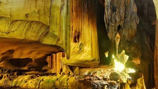 Disetiap sudut ruangan mempunyai nilai sejarah Goa Batu kapal