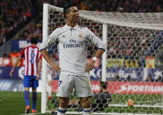 Cristiano Ronaldo scores hat trick at Madrid Derby