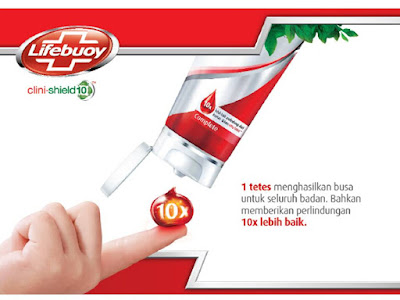 Lifebuoy clini-shield10