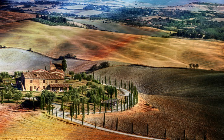 Top 10 Natural Wonders in Italy - Valleys of Tuscany