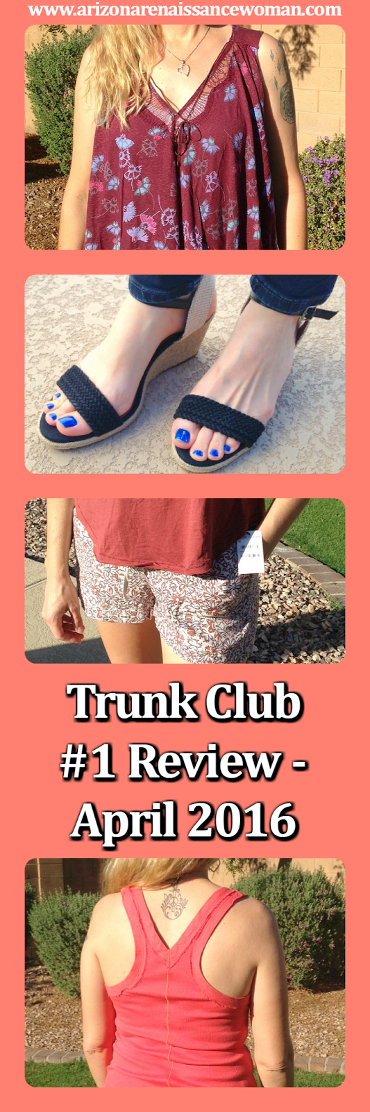 Trunk Club Review - April 2016 - Collage