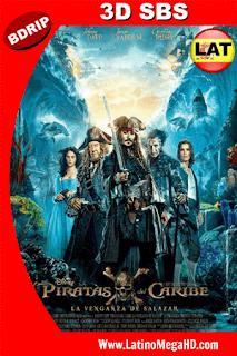 Piratas del Caribe: La Venganza de Salazar (2017) Latino 3D SBS BDRIP 1080P - 2017