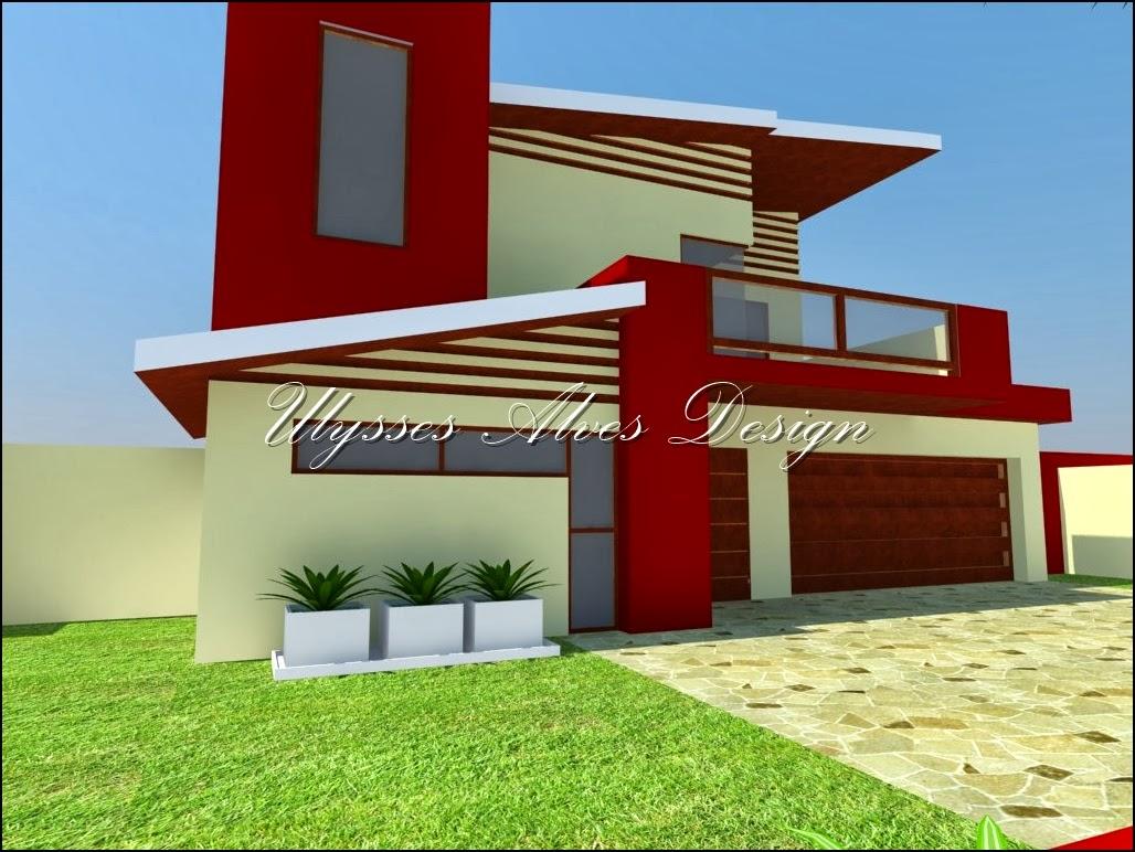 Ulysses alves design casa colonial moderna 2 for Casa moderna 2014 espositori