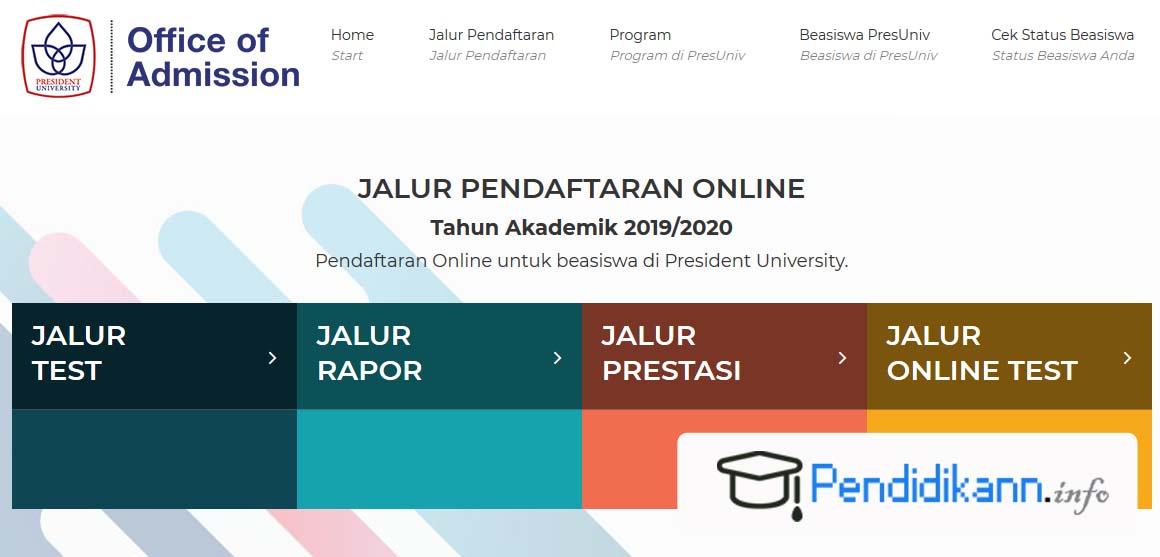 Beasiswa Jababeka Jalur Rapor President University