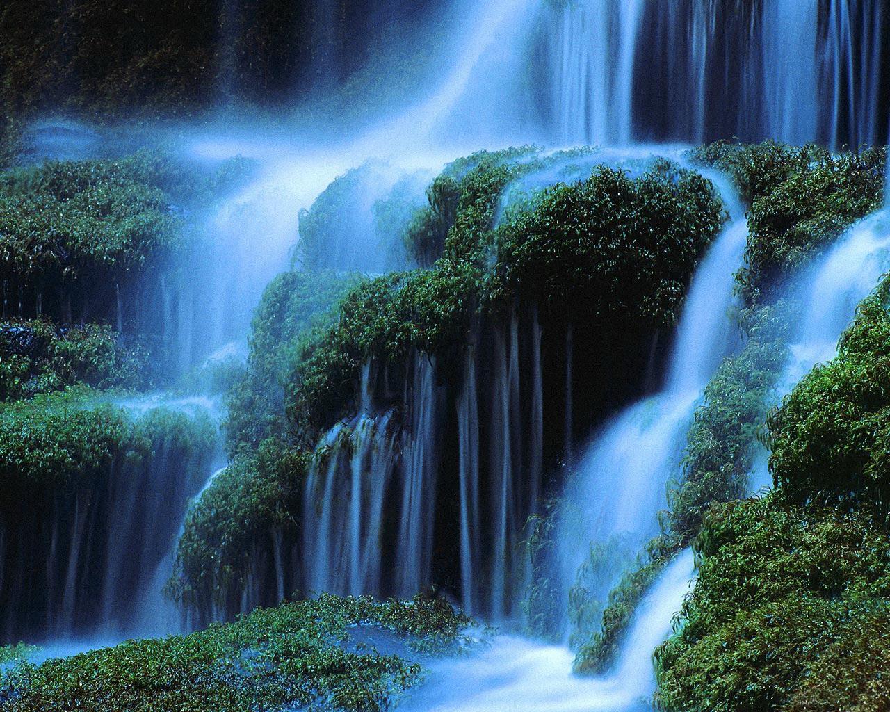 Water Fall Wallpaper Hd For Desktop Free Download Beautiful Wallpapers Waterfall Wallpapers