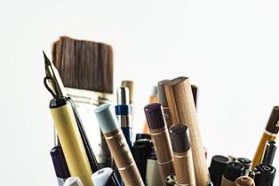 penne matite e pennelli