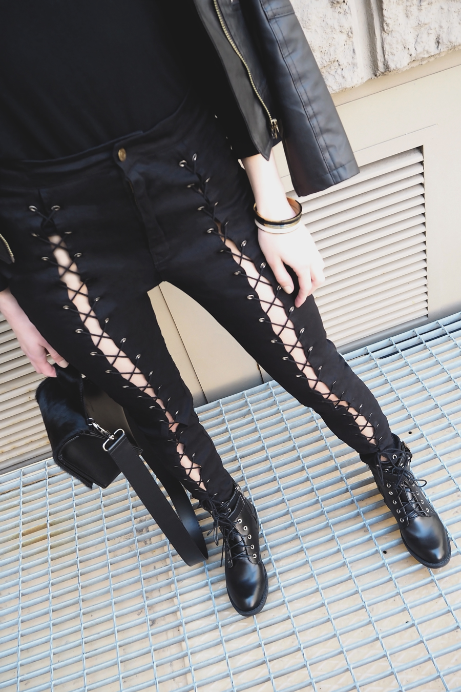 Inspiration | Lace-up Pants Love
