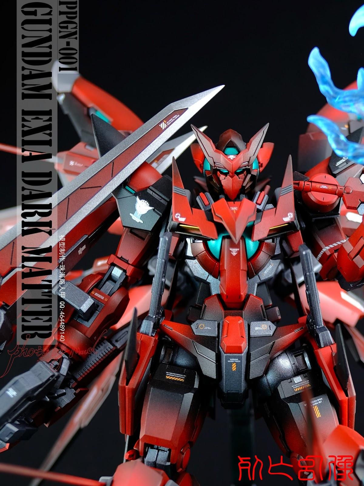 GUNDAM GUY: MG 1/100 Gundam Exia Dark Matter - Customized ...