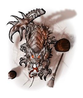 illustration of Horrid Rat