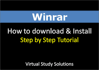 How to Download and Install Winrar Application in window 7