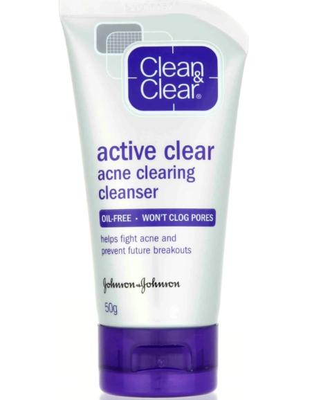 acne clean & clear