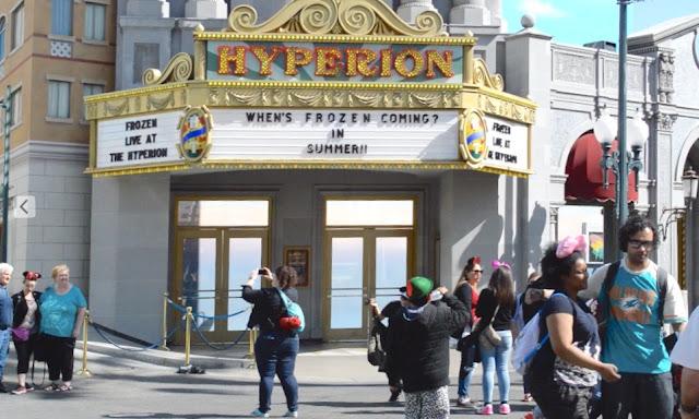 Disney's California Adventure Hollywood Land Frozen