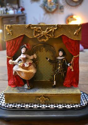 Petit théâtre- maison du Roy- création Cathy Vagnon