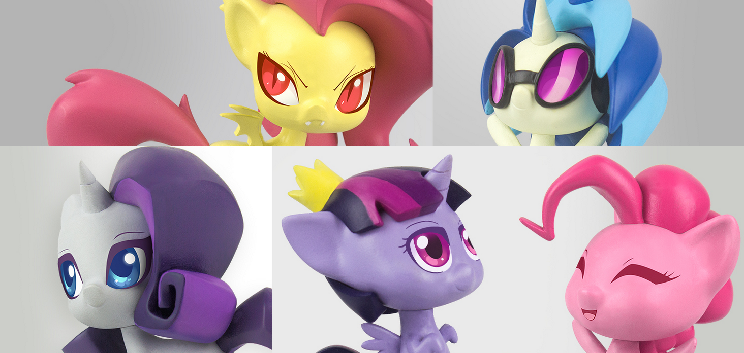 My Little Pony Reveals The Chibi Blind Box Figures By