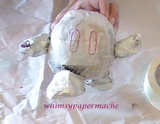Minion Bob Santa Ornament armature form ready for paper mache