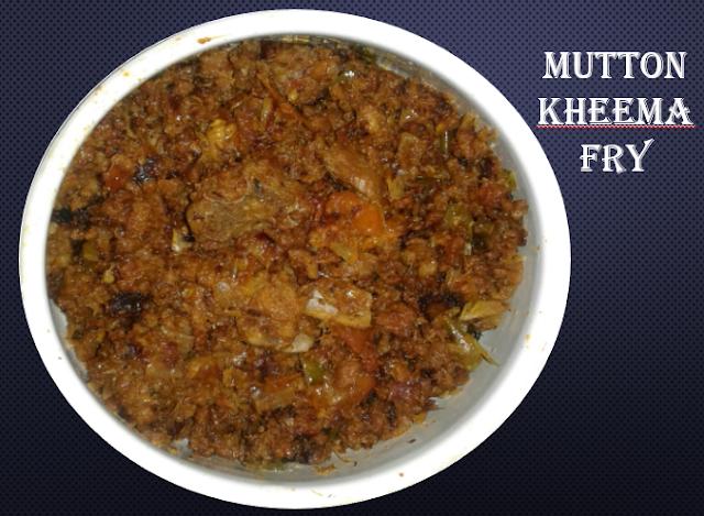 how to cook kheema fry