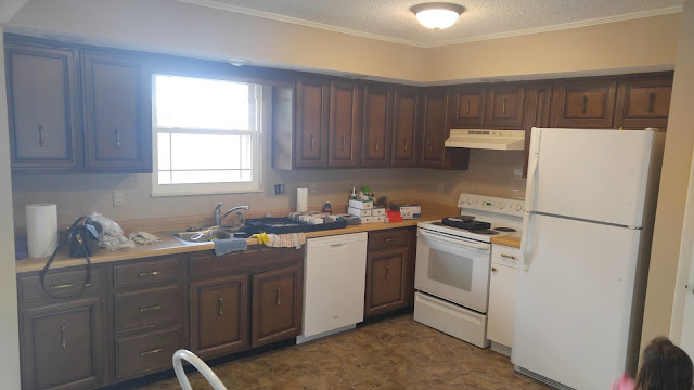 Kitchen Cabinet Refinishing1